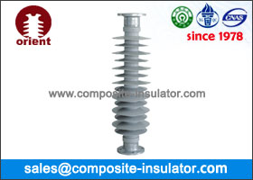 Polymeric station post insulators